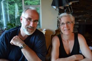 me with Vicki, 2012